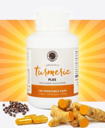 Organic Turmeric Pulse Capsules