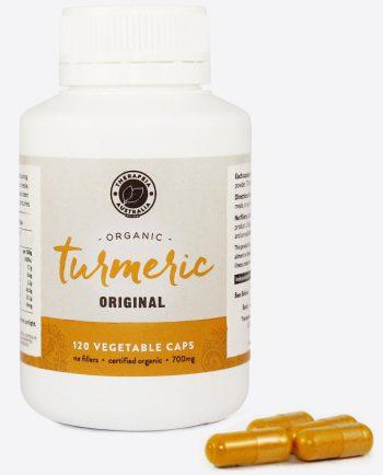 Therapeia Australia Organic Turmeric Capsules