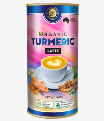 organic turmeric latte 100g