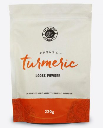 Therapeia Australia Organic Certified Turmeric Powder Loose