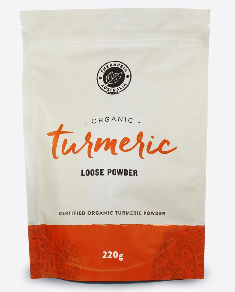 Therapeia Australia Organic Certified Turmeric Powder Loose