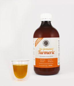 Biofermented Turmeric Liquid