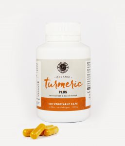 Organic Turmeric Capsules PLUS