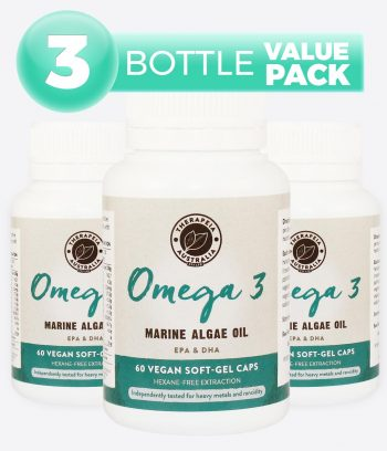 Omega 3 Marine Algae Oil - 3 Bottle Value Pack
