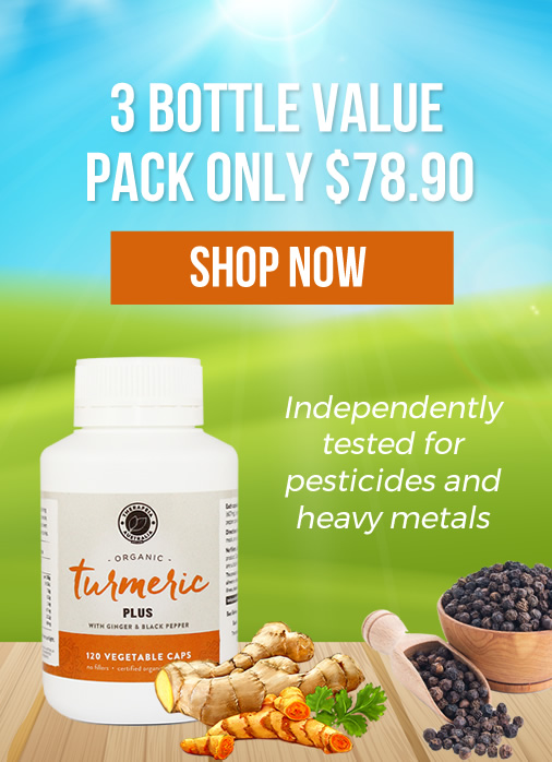 Turmeric Plus - 3 bottle value pack