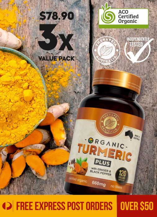 Organic Turmeric PLUS value pack